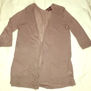 Tahari Sweaters - Tahari Linen Blend Cardigan size Large